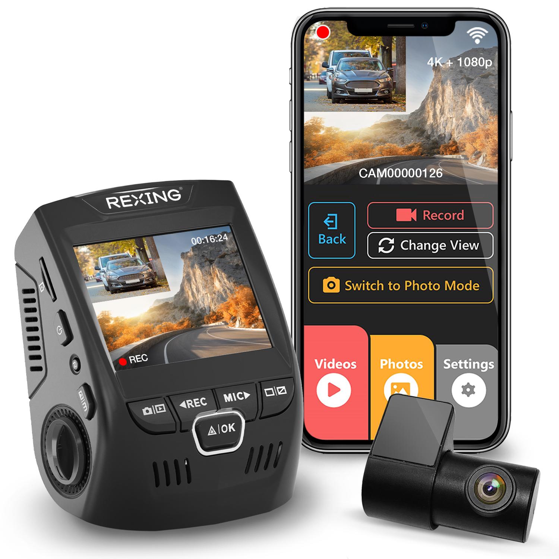 Rexing DashCam coupon: Rexing V1P-4K