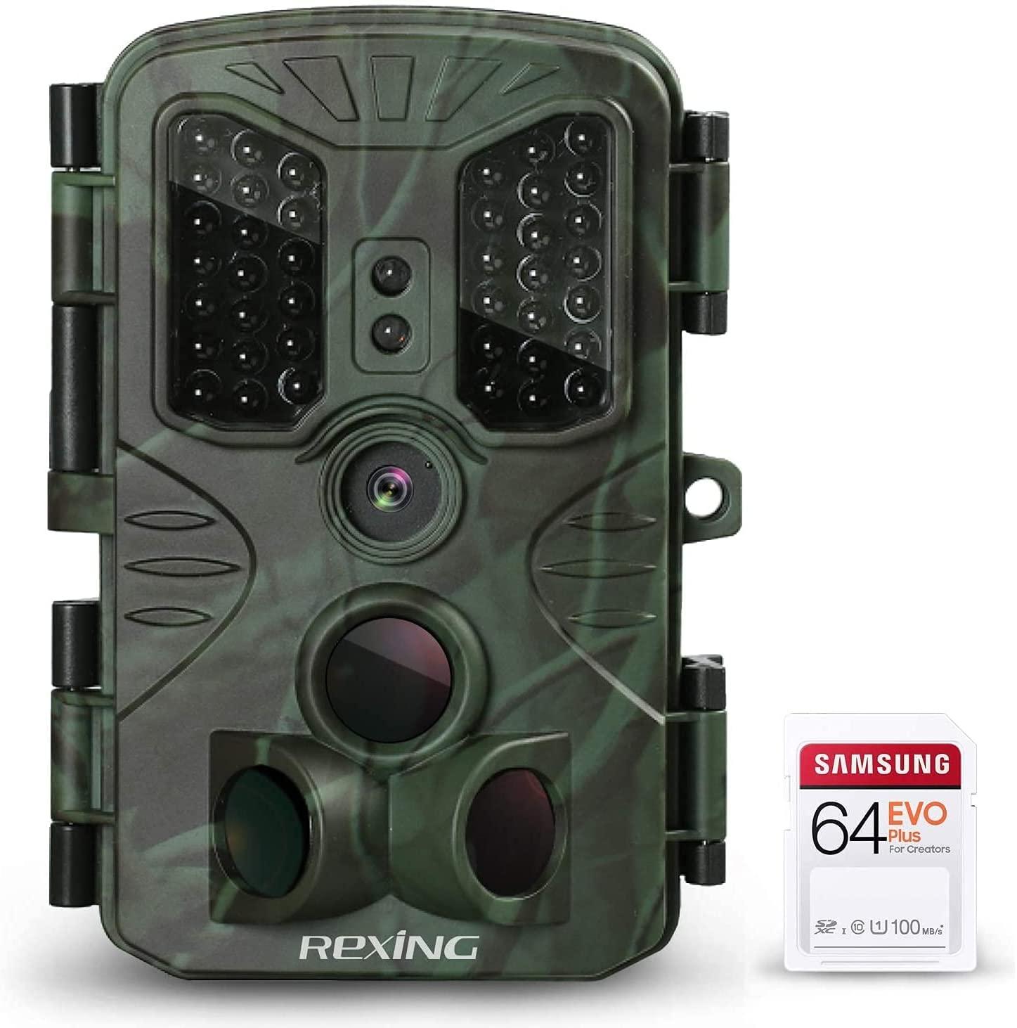 Rexing DashCam coupon: REXING H1 Blackhawk Night Vision Trail Camera